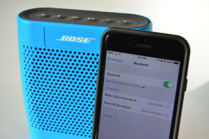 bose soundlink colour pair
