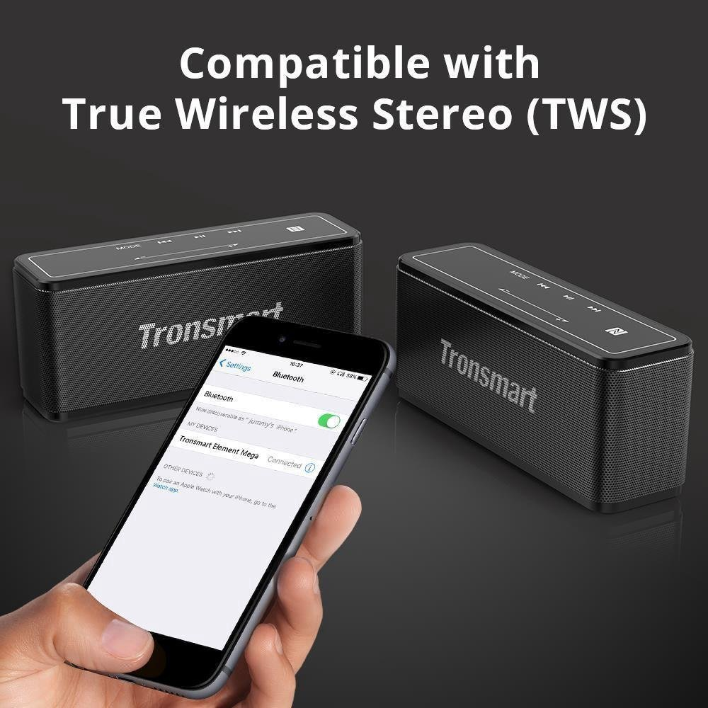 tronsmart element mega 40w tws